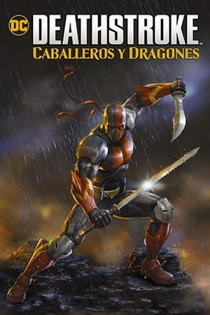 Deathstroke: Knights & Dragons - The Movie poszter
