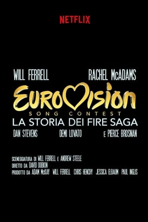 Eurovision Song Contest: The Story of Fire Saga poszter